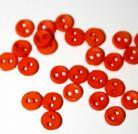 """1/8"""" Orange Button"""