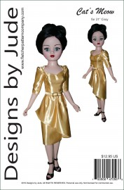 "Cat's Meow for 21"" Cissy Dolls PDF"