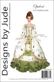 Opulent Gown Pattern for 1/3 Iplehouse EID PDF