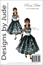 "Prom Date for 16"" Alex Fashion Dolls PDF"