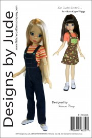 So Cute Overall Pattern for 46cm Kaye Wiggs PDF