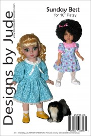 "Sunday Best for 10"" Patsy Doll PDF"