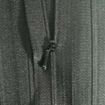 "4 1/2"" Black Zipper"