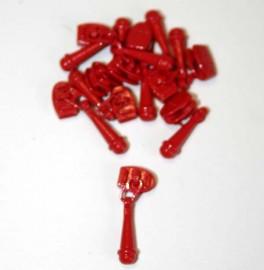 Cherry Red Zipper Pull
