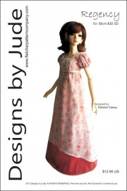 Regency for 58cm BJD SD Dolls Printed