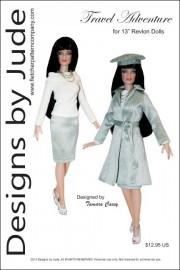 "Travel Adventure for 13"" Revlon Dolls PDF"