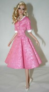 "1950's Swing Dress & Jacket for 16"" Modsdoll Dolls"