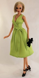 """Sleeveless Wrap Dress for 16"""" Kingdom Dolls"""