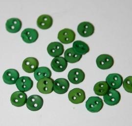 """1/8"""" Green Buttons"""