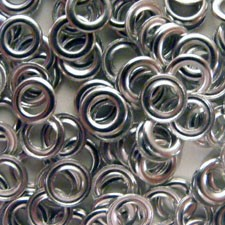 "1/8"" Eyelet Washers -25 pack"
