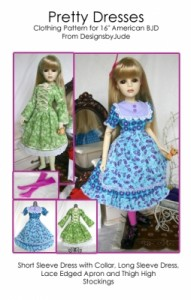 ABJD Pretty Dress Pattern PDF