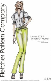 Summer American Model Printed Pattern