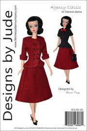 Agency Classic for Silkstone Barbie Printed