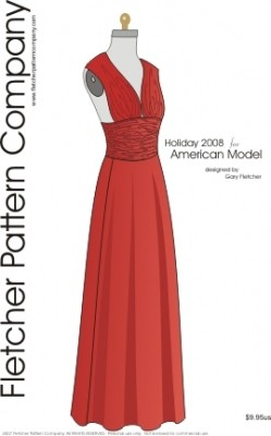 Holiday American Model Printed Pattern