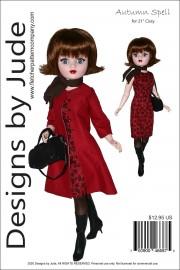"Autumn Spell for 21"" Cissy PDF"