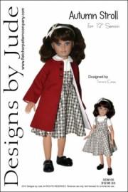 "Autumn Stroll for 12"" Senson Dolls"