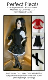 43cm BJD Perfect Pleats PDF