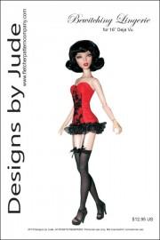 "Bewitching Lingerie for 16"" Deja Vu PDF"