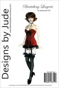 Bewitching Lingerie Pattern for 45.5cm Iplehouse FID Printed