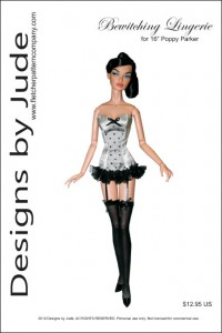 "Bewitching Lingerie for 16"" Poppy Parker PDF"