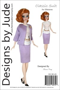 Classic Suit for Silkstone Barbies Printed