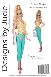 """Clam Bake for 16"""" JamieShow Dolls PDF"""