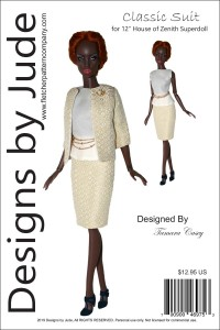 "Classic Suit for 12"" House of Zenith Superdolls PDF"