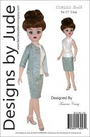 """Classic Suit for 21"""" Cissy PDF"""
