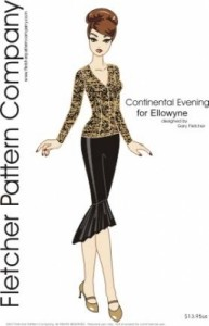 Continental Evening for Ellowyne Printed