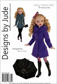 "Cozy Trend Coat for 16"" Ellowyne  Wilde PDF"