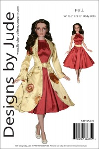 "Fall for 16.5"" RTB101 Body Dolls Printed"