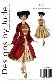 "Fall for 16"" Sybarite Superdoll Dolls PDF"