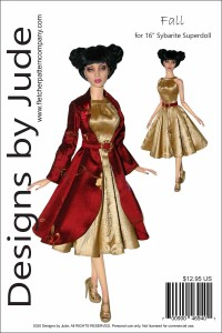 """Fall for 16"""" Sybarite Superdoll Dolls Printed"""