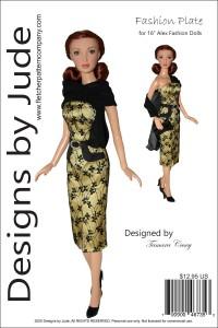 "Fashion Plate for 16"" Alex Fashion Dolls PDF"