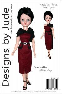 """Fashion Plate for 21"""" Modern Cissy PDF"""