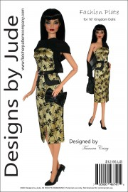 "Fashion Plate for 16"" Kingdom Dolls PDF"