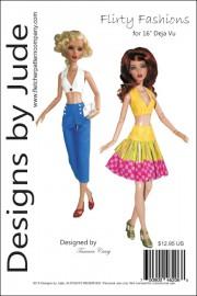 """Flirty Fashions for 16"""" Deja Vu PDF"""