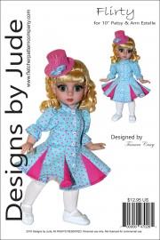 "Flirty Dress for 10"" Patsy and Ann Estelle PDF"