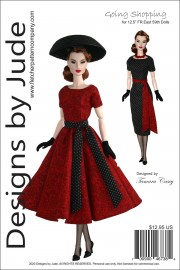 Going Shopping for FR East 59th Dolls Printed
