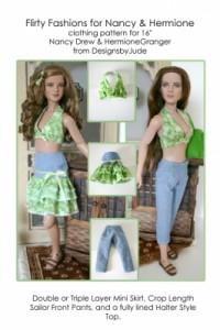 Flirty Fashions for Nancy & Hermione Printed
