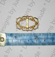 "1"" Filigree Brass Buckle"