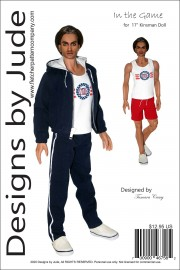 "In the Game for 17"" Kinsman Dolls PDF"