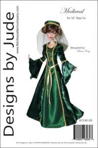 "Medieval Pattern for 16"" Deja Vu PDF"