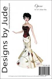 """Opera for 16"""" Urban Vita Dolls PDF"""
