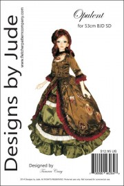 Opulent for 1/3 AOD BJD SD Dolls Printed