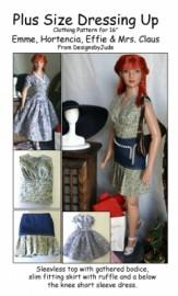 Dressing Up Emme Printed
