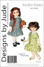 """Perfect Pleats for 10"""" BJD Creedy Dolls PDF"""