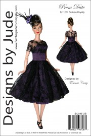 """Prom Date for 12.5"""" Fashion Royalty PDF"""