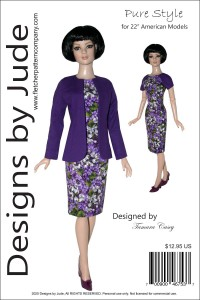 """Pure Style for 22"""" American Model Dolls Printed"""