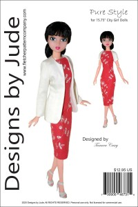"""Pure Style for 15.75"""" City Girl Doll PDF"""